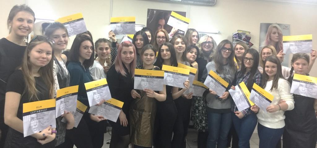 Студенты Интерколледжа получили сертификаты Olin Professional
